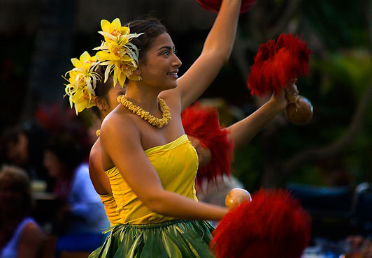 Old Lahaina Luau Hawaiian Performance
