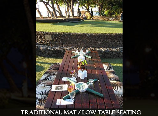 Old Lahaina Luau Ground Seating